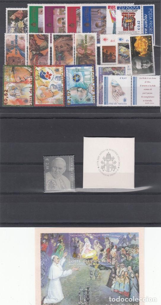 VATICANO AÑO COMPLETO 2003 - VER FOTOS ADICIONALES - SELLOS - HB - CARNETS - -SELLO DE PLATA (Sellos - Extranjero - Europa - Vaticano)