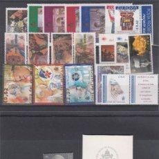 Sellos: VATICANO AÑO COMPLETO 2003 - VER FOTOS ADICIONALES - SELLOS - HB - CARNETS - -SELLO DE PLATA . Lote 184642185
