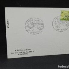 Sellos: TARJETA CON SELLO. VISITA DEL PAPA JUAN PABLO II AL VATICANO. 1985.. Lote 188550363