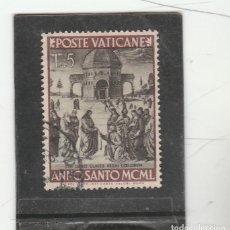 Sellos: VATICANO, CIUDAD DEL 1950 - YVERT NRO. 150 - USADO. Lote 189703525