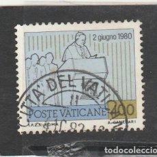 Sellos: VATICANO, CIUDAD DEL 1981 - YVERT NRO. 722 - USADO. Lote 189703828