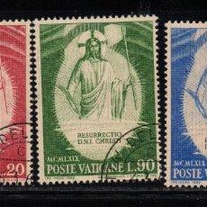 Sellos: VATICANO 485/87 - AÑO 1969 - PASCUA - LA RESURRECCION. Lote 190937106