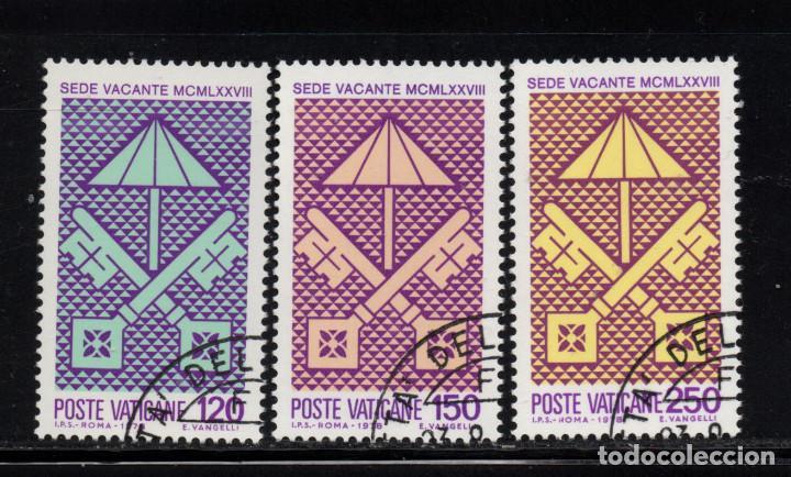 VATICANO 656/58 - AÑO 1978 - SEDE VACANTE (Sellos - Extranjero - Europa - Vaticano)