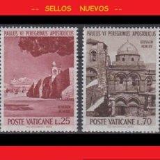 Sellos: LOTE SELLOS NUEVOS - POSTE VATICANE - VATICANO - AHORRA GASTOS COMPRA MAS SELLOS. Lote 191651790