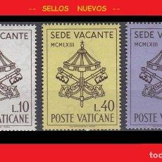 Sellos: LOTE SELLOS NUEVOS - POSTE VATICANE 1963 - VATICANO - AHORRA GASTOS COMPRA MAS SELLOS. Lote 191652131