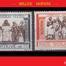 Sellos: LOTE SELLOS NUEVOS - POSTE VATICANE - VATICANO - AHORRA GASTOS COMPRA MAS SELLOS. Lote 191652222