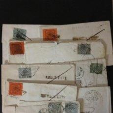 Sellos: VATICANO, LOTE DE CARTAS Y FRONTALES DEL ESTADO DE LA IGLESIA,. Lote 191817628