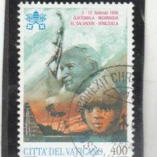 Sellos: VATICANO, CIUDAD DEL 1997 - YVERT NRO. 1090 - USADO. Lote 193960742