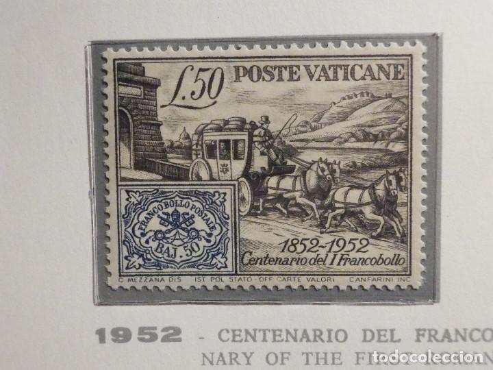 POSTE VATICANE IVERT & TELLIER Nº 173 - AÑO 1952 - CENTENARIO FRANCOBOLLO PONTIFICIO - NUEVO (Sellos - Extranjero - Europa - Vaticano)