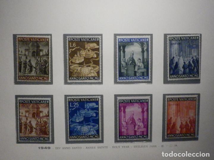 POSTE VATICANE IVERT & TELLIER Nº 150 A 157 AÑO 1950 - AÑO SANTO, NUEVOS - SERIE COMPLETA (Sellos - Extranjero - Europa - Vaticano)