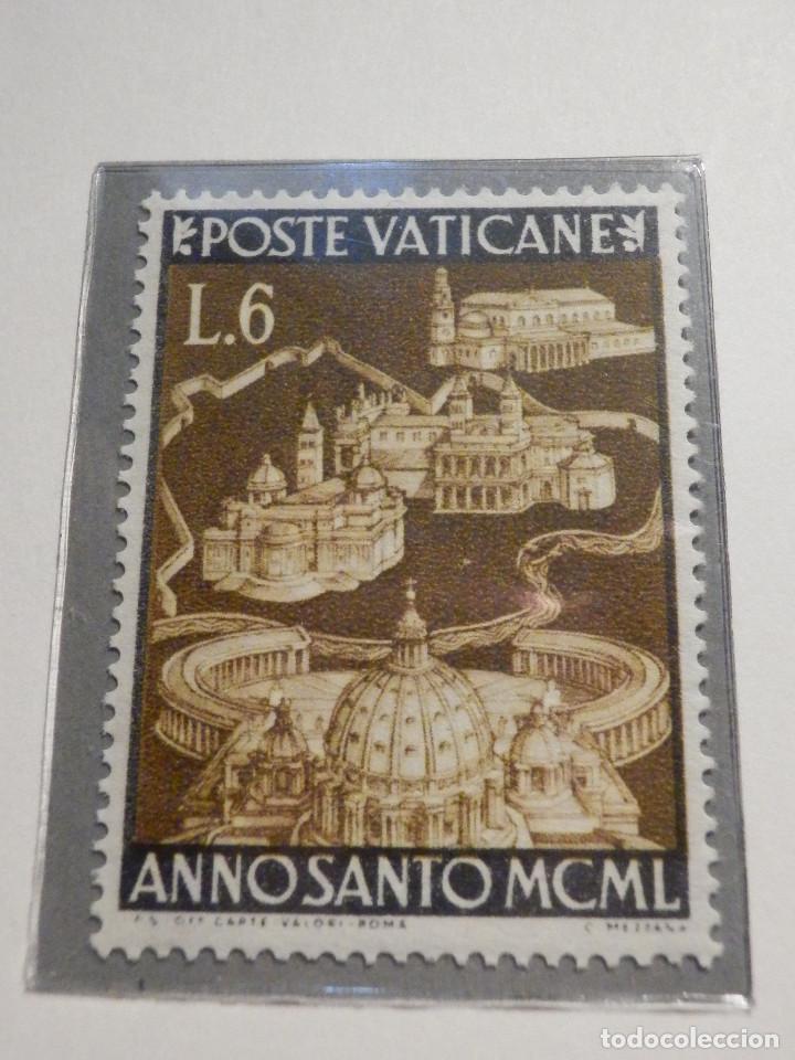 Sellos: POSTE VATICANE IVERT & TELLIER Nº 150 a 157 AÑO 1950 - Año Santo, NUEVOS - Serie completa - Foto 3 - 194095518