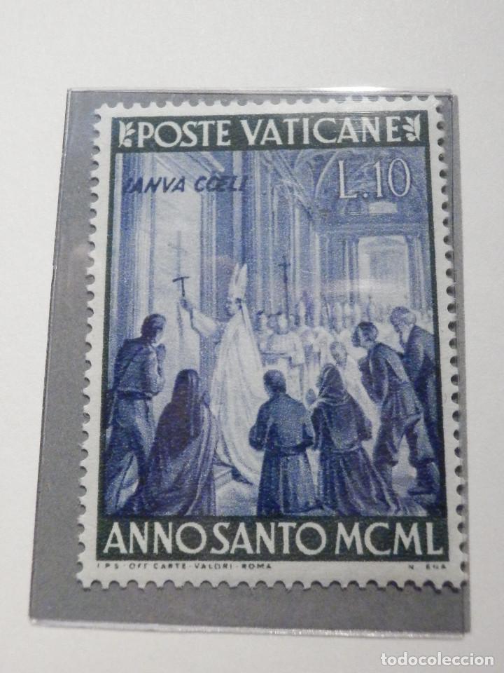 Sellos: POSTE VATICANE IVERT & TELLIER Nº 150 a 157 AÑO 1950 - Año Santo, NUEVOS - Serie completa - Foto 5 - 194095518
