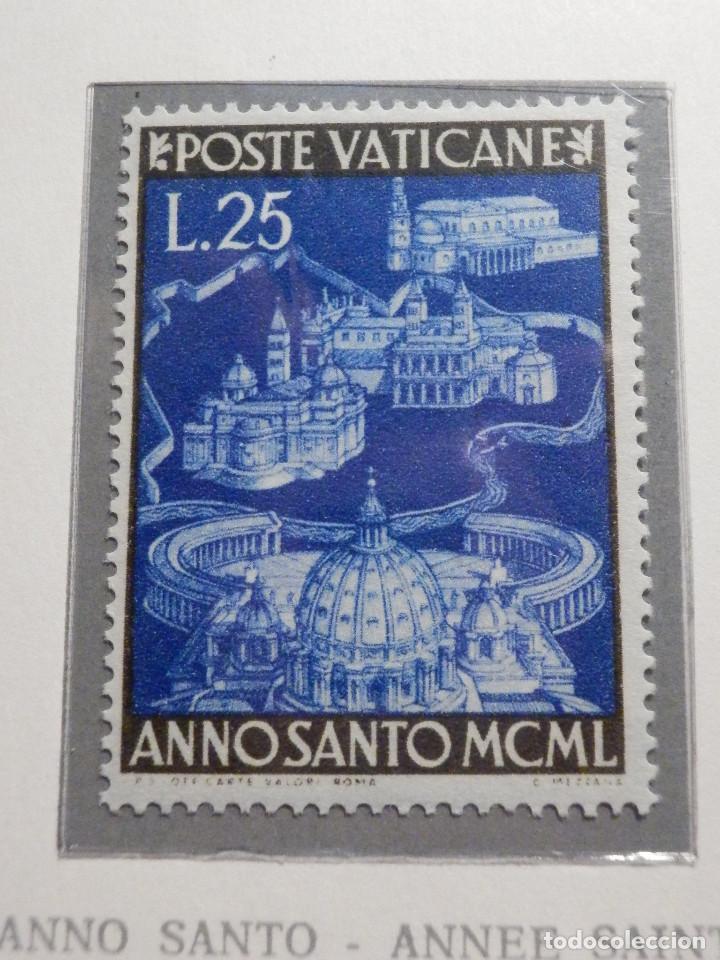Sellos: POSTE VATICANE IVERT & TELLIER Nº 150 a 157 AÑO 1950 - Año Santo, NUEVOS - Serie completa - Foto 7 - 194095518