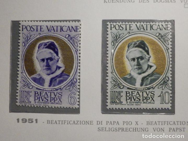 POSTE VATICANE IVERT & TELLIER Nº 163,164,165 Y 166 - AÑO 1951 - NUEVOS - SERIE COMPLETA (Sellos - Extranjero - Europa - Vaticano)