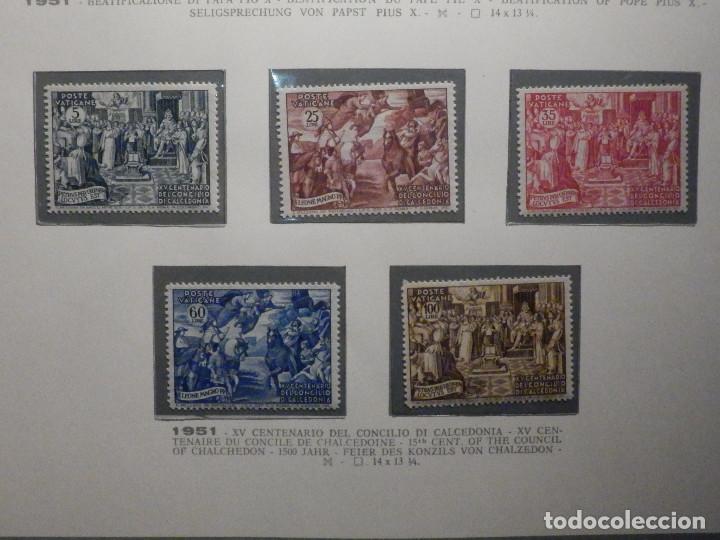 POSTE VATICANE IVERT & TELLIER Nº 167,168,169, 170 Y 171 - AÑO 1951 - NUEVOS - SERIE COMPLETA (Sellos - Extranjero - Europa - Vaticano)