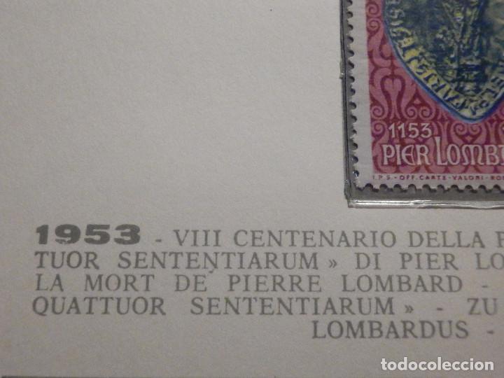 Sellos: POSTE VATICANE IVERT & TELLIER Nº 191 - AÑO 1953 - Pierre Lombard - NUEVO - Serie completa - Foto 2 - 194096400