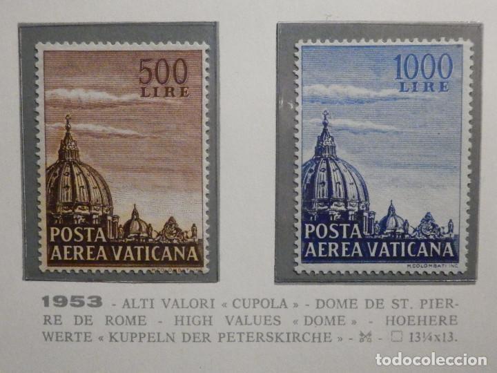 POSTE VATICANE IVERT & TELLIER Nº 22 Y 23 - AÑO 1953 - AEREOS - (Sellos - Extranjero - Europa - Vaticano)
