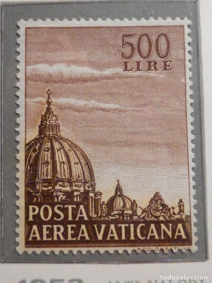 Sellos: POSTE VATICANE IVERT & TELLIER Nº 22 y 23 - AÑO 1953 - Aereos - - Foto 2 - 194096850