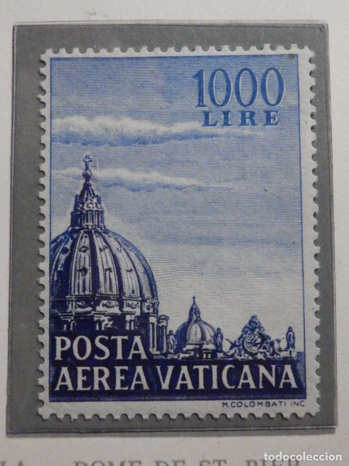 Sellos: POSTE VATICANE IVERT & TELLIER Nº 22 y 23 - AÑO 1953 - Aereos - - Foto 3 - 194096850