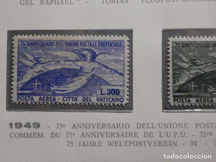 POSTE VATICANE IVERT & TELLIER Nº 18 Y 19 - AÑO 1949 - AEREOS - NUEVOS - SERIE COMPLETA (Sellos - Extranjero - Europa - Vaticano)