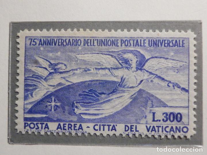 Sellos: POSTE VATICANE IVERT & TELLIER Nº 18 y 19 - AÑO 1949 - Aereos - Nuevos - Serie completa - Foto 2 - 194096915