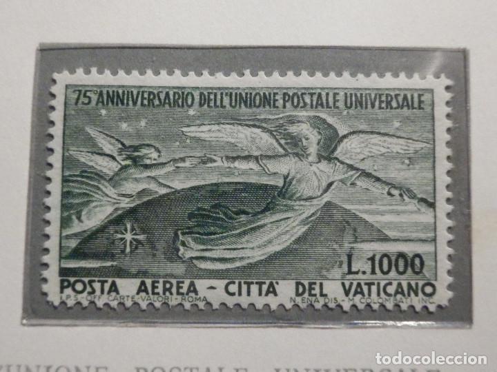 Sellos: POSTE VATICANE IVERT & TELLIER Nº 18 y 19 - AÑO 1949 - Aereos - Nuevos - Serie completa - Foto 3 - 194096915
