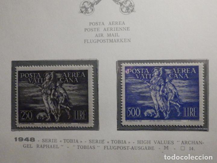 POSTE VATICANE IVERT & TELLIER Nº 16 Y 17 - AÑO 1948 - AEREOS - NUEVOS - SERIE COMPLETA (Sellos - Extranjero - Europa - Vaticano)