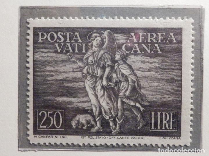 Sellos: POSTE VATICANE IVERT & TELLIER Nº 16 y 17 - AÑO 1948 - Aereos - Nuevos - Serie completa - Foto 2 - 194096972