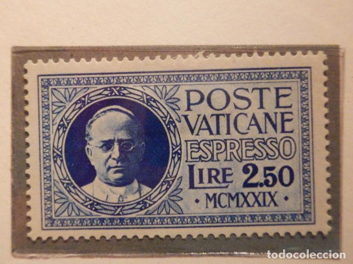 Sellos: Poste Vaticane, Espresso - Express. Ivert &Tellier Nº 1 y 2 - Año 1929. Serie completa. - Foto 3 - 194154832