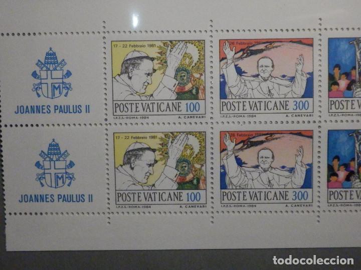 Sellos: POSTE VATICANE IVERT & TELLIER Nº C-756 Carnet AÑO 1985 - VIAJES JUAN PABLO II - SERIE COMPLETA - Foto 2 - 194357151