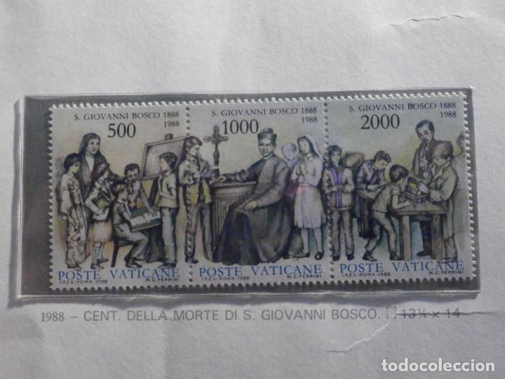 POSTE VATICANE IVERT & TELLIER Nº 828 AL 830 AÑO 1985 - JUAN BOSCO - SERIE COMPLETA (Sellos - Extranjero - Europa - Vaticano)