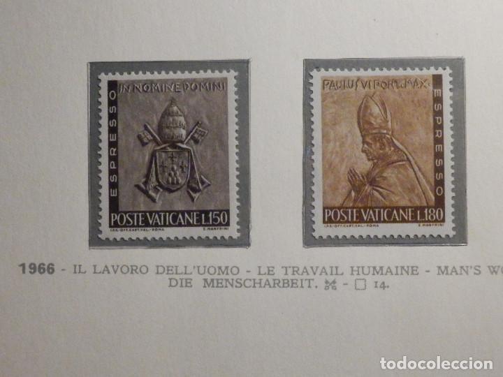 POSTE VATICANE, ESPRESSO - EXPRESS. IVERT & TELLIER Nº 17 Y 18 - AÑO 1966. SERIE COMPLETA. (Sellos - Extranjero - Europa - Vaticano)
