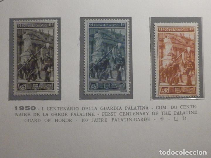 POSTE VATICANE, POSTAL . IVERT & TELLIER Nº 158, 159 Y 160 - AÑO 1950. SERIE COMPLETA. (Sellos - Extranjero - Europa - Vaticano)