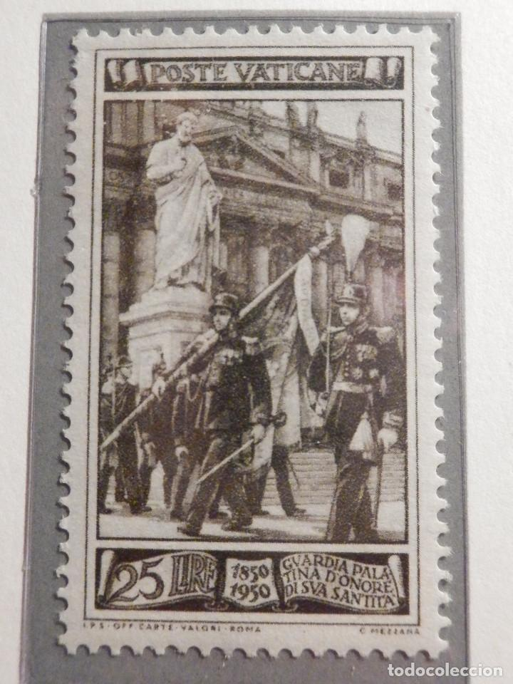 Sellos: POSTE VATICANE, Postal . IVERT & TELLIER Nº 158, 159 y 160 - AÑO 1950. SERIE COMPLETA. - Foto 2 - 194357618