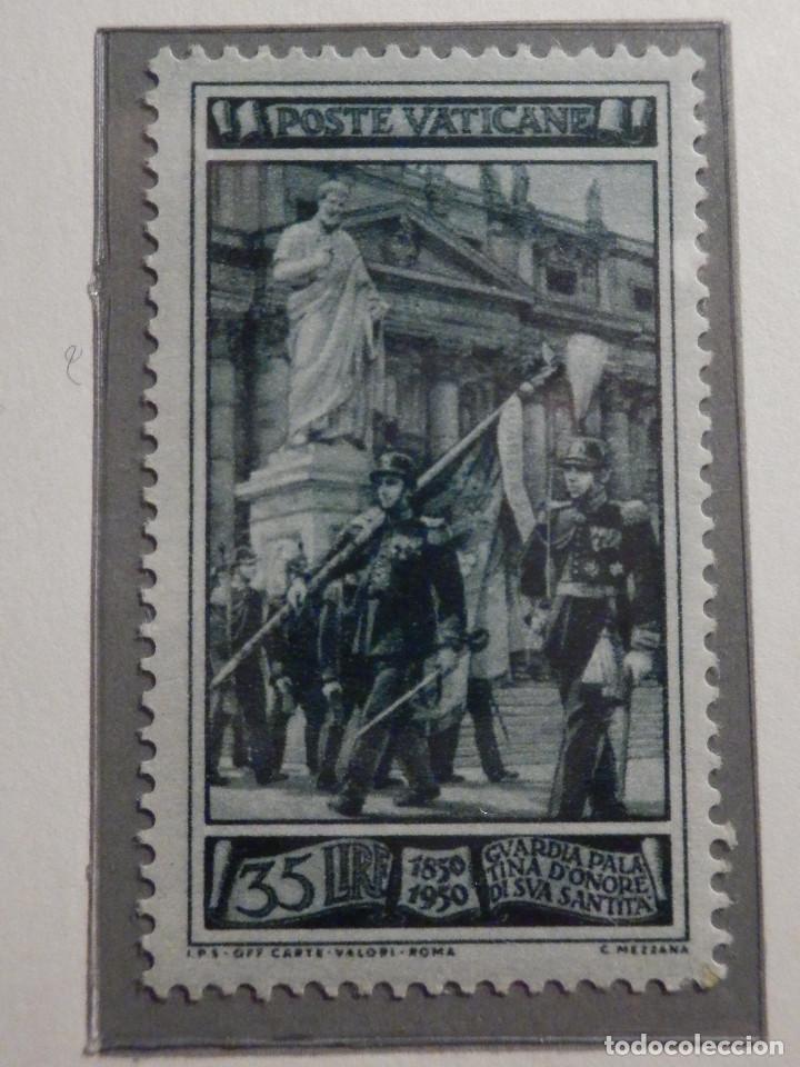 Sellos: POSTE VATICANE, Postal . IVERT & TELLIER Nº 158, 159 y 160 - AÑO 1950. SERIE COMPLETA. - Foto 3 - 194357618