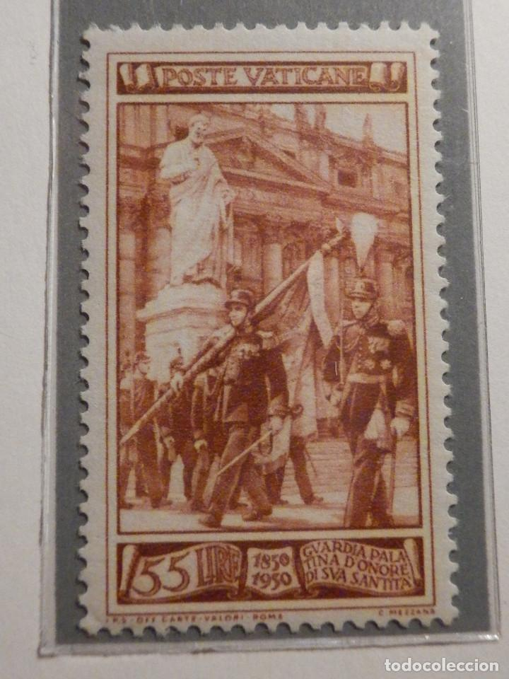 Sellos: POSTE VATICANE, Postal . IVERT & TELLIER Nº 158, 159 y 160 - AÑO 1950. SERIE COMPLETA. - Foto 4 - 194357618