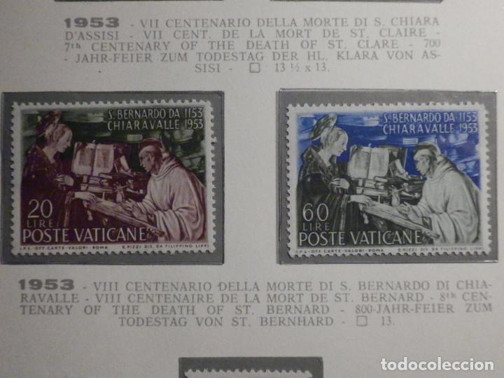 POSTE VATICANE, POSTAL . IVERT & TELLIER Nº 189 Y 190 - AÑO 1953. SERIE COMPLETA. (Sellos - Extranjero - Europa - Vaticano)