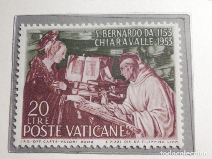 Sellos: POSTE VATICANE, Postal . IVERT & TELLIER Nº 189 y 190 - AÑO 1953. SERIE COMPLETA. - Foto 2 - 194357643