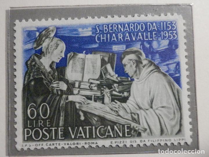Sellos: POSTE VATICANE, Postal . IVERT & TELLIER Nº 189 y 190 - AÑO 1953. SERIE COMPLETA. - Foto 3 - 194357643