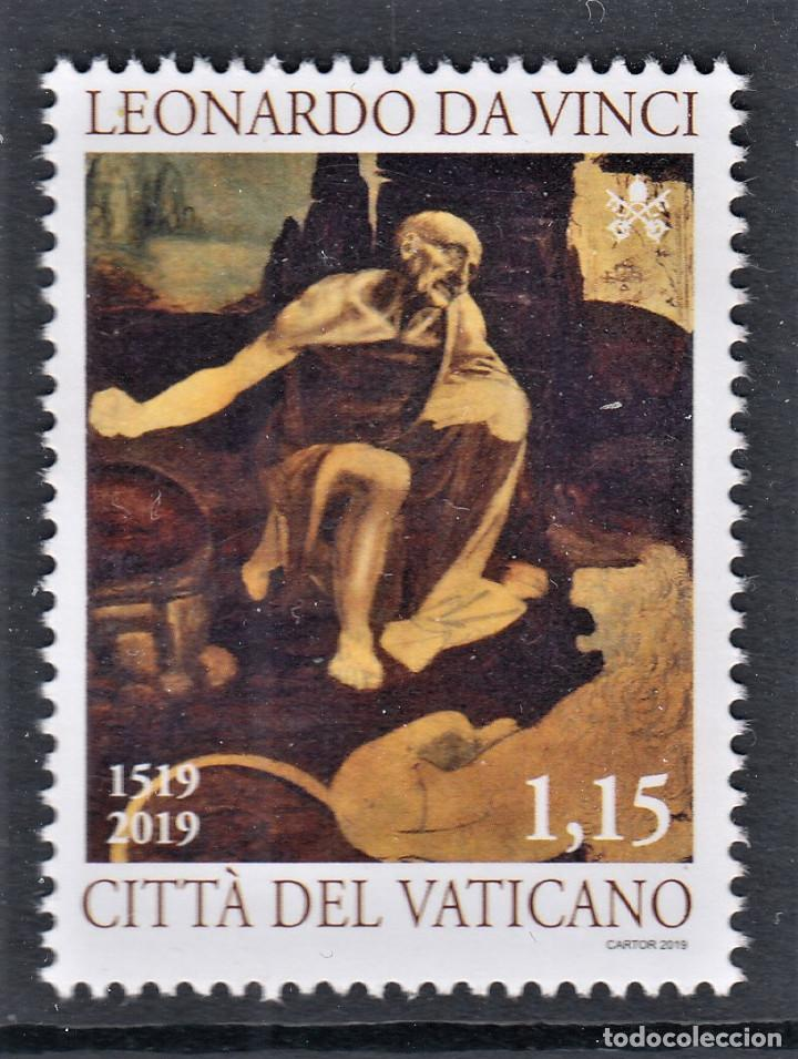 VATICANO 2019 V CENTENARIO DE LA MUERTE DE LEONARDO DA VINCI (Sellos - Extranjero - Europa - Vaticano)