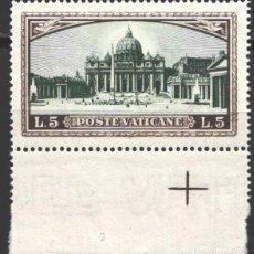 Sellos: VATICANO, 1933 YVERT Nº 57 /**/ . Lote 195415108
