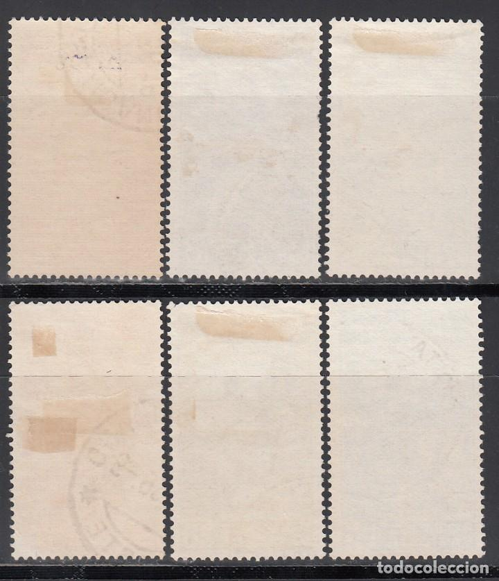 Sellos: VATICANO, 1935 YVERT Nº 66 / 71, Congreso Jurídico Internacional, Roma - Foto 2 - 196230220