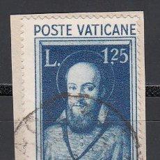 Sellos: VATICANO, 1933 YVERT Nº 78, EXPOSICIÓN MUNDIAL DE LA PRENSA CATÓLICA, ST. FRANCIS DE SALES. Lote 196233142