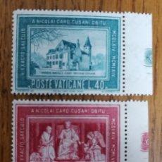 Sellos: VATICANO N°395/96 MNH (FOTOGRAFÍA REAL). Lote 199318472