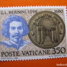 Timbres: VATICANO 1980, G.L.BERNINI. Lote 200838401