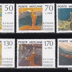 Sellos: VATICANO103 AÑO 1977 SELLOS NUEVOS ** MNH. Lote 201102816