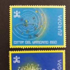 Timbres: VATICANO, EUROPA Y LOS DESCUBRIMIENTOS 1994, MNH (FOTOGRAFÍA REAL). Lote 203348485