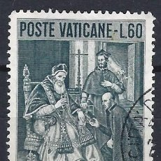 Selos: VATICANO 1956 - 4º CENTENARIO DE LA MUERTE DE SAN IGNACIO DE LOYOLA - SELLO USADO. Lote 203418903