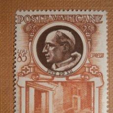 Sellos: POSTE VATICANE - VATICANO AÑO 1953 PAPAS - EDIFIL 204. Lote 205270870