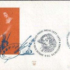 Sellos: VATICANO FDC 1977 RUBENS ARTE PINTURA. Lote 205688471